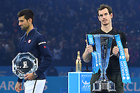 Andy Murray (GB) def Novak Djokovic (Ser)<br /> Londra 20-11-2016 <br /> Tennis ATP FINALS 2016 <br /> Finale <br /> Foto Antoine Couvercelle / panoramic / Insidefoto