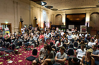MELBOURNE, AUSTRALIA - JANUARY 09: 2011 Victorian Barista Championship held at St Kilda Town Hall on January 9, 2011 in Melbourne, Australia. (Photo by Sydney Low / Asterisk Images)