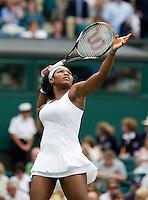 27-6-08, England, Wimbledon, Tennis, Serena Williams