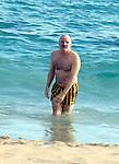 Steve Martin in St Barth 01/10/2005