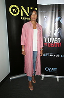 10 July 2019 - Los Angeles, California - MC Lyte. LA Press Junket For TV One's A Month Of Love, Lies, And Murder held at TV One Headquarters. Photo Credit: Faye Sadou/AdMedia