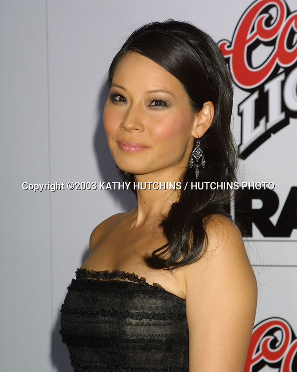 ©2003 KATHY HUTCHINS / HUTCHINS PHOTO.KILL BILL, PART 1 PREMIERE.GRAUMAN'S CHINESE THEATER.HOLLYWOOD, CA.SEPTEMBER 29, 2003..LUCY LIU