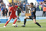 08.06.2019., stadium Gradski vrt, Osijek - UEFA Euro 2020 Qualifying, Group E, Croatia vs. Wales. Gareth Bale, Ivan Perisic. <br /> <br /> Foto © nordphoto / Davor Javorovic/PIXSELL