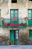 Traditional Basque architecture in the Biskaia Basque region of Northern Spain