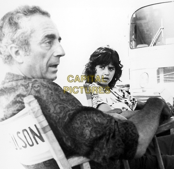 MICHELANGELO ANTONIONI (DIRECTOR) & MARIA SCHNEIDER.on the set of The Passenger.Re-Release.*Editorial Use Only*.www.capitalpictures.com.sales@capitalpictures.com.Supplied by Capital Pictures.