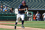 May 22, 2015; Stockton, CA, USA; Loyola Marymount Lions outfielder Billy Wilson (4) during the WCC Baseball Championship at Banner Island Ballpark.