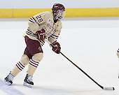 Scott Savage (BC - 28) - The Boston College Eagles defeated the University of Denver Pioneers 6-2 in their NCAA Northeast Regional semi-final on Saturday, March 29, 2014, at the DCU Center in Worcester, Massachusetts.