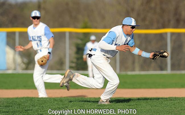 Skyline vs. Saline High School boy's baseball at Skyline High School, Thursday, May 2, 2013.