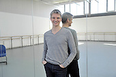 Scottish Ballet Artistic Director Christopher Hampson at the Tramway (Scottish Ballet base in Glasgow) - picture by Donald MacLeod - 08.10.12 - 07702 319 738 - clanmacleod@btinternet.com - www.donald-macleod.com