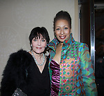 As The World Turns' Tamara Tunie poses with Linda Dano as HeartShare Human Services of New York 2012 held its Spring Gala & Auction on March 22, 2012 at the New York Marriott Marquis, New York City, New York.  (Photo by Sue Coflin/Max Photos)