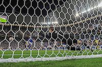 FUSSBALL EURO 2016 VIERTELFINALE IN BORDEAUX Deutschland - Italien      02.07.2016 Torwart Manuel Neuer (Deutschland) kann den Elfmeter von Leonardo Bonucci nicht halten