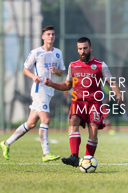 Marc Martinez of Kwoon Chung Southern in action during the week three Premier League match between Kwoon Chung Southern and R&F at Aberdeen Sports Ground on September 16, 2017 in Hong Kong, China. Photo by Marcio Rodrigo Machado / Power Sport Images