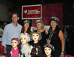 """General Hospital's Jackie Zeman (in Hats for Health booth at Women's Expo) poses with Jane Elissa, her sister Lauren and Gail all wearing Hats for Health as Daytime's TV and Broadway stars get involved in helping launch Jane Elissa's """"Hats For Health"""" to promote awareness and to raise money for Leukemia/Lymphoma cancer research and patient aid. The Hats For Health will be available through Jane Elissa at 917-325-1085 and through the new website """"Hats For Health"""". Jackie Zeman was at the 8th Annual Connecticut Women's Expo presented by Comcast on September 11 & 12, 2010, Hartford, Connecticut.  (Photo by Sue Coflin/Max Photos)"""