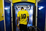26.07.2014 St Albans, England. Pre Season friendly between St Albans City and Watford from Clarence Park Stadium. Lewis McGugan in the tunnel before kick off.