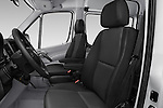 Front seat view of 2017 Mercedes Benz Sprinter-Crew-Van 2500-170-WB-High-Roof 4 Door Combi Front Seat  car photos