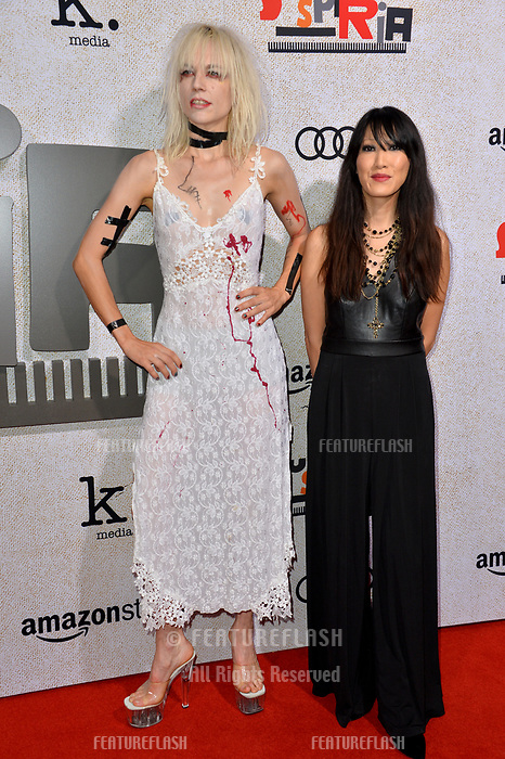 """LOS ANGELES, CA. October 24, 2018: Kate Crash & Jeni Chua at the Los Angeles premiere for """"Suspiria"""" at the Cinerama Dome.<br /> Picture: Paul Smith/Featureflash"""