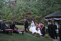 "Port Matilda, PA -- 09/22/2007 -- Kimberly Bergey and Russell ""Skip"" Shuey were married at Marrara's Mountain Lodge on Saturday, September 22, 2007...Photo:  Joe Rokita / JoeRokita.com..Photo ©2007 Joe Rokita Photography"