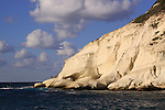 Israel, Rosh Hanikra in the Galilee Coastal Plain