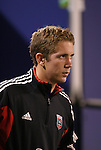 2 October 2004: United goalkeeper Troy Perkins before the game. DC United defeated the MetroStars 1-0 at Giants Stadium in East Rutherford, NJ during a regular season Major League Soccer game..