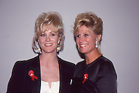 Joanna Kerns & Donna De Varona 1992 by <br />