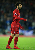 30th January 2019, Anfield, Liverpool, England; EPL Premier League football, Liverpool versus Leicester City; Mohamed Salah of Liverpool