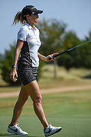 Jaye Marie Green (USA) after sinking her putt on 12 during the round 3 of the Volunteers of America Texas Classic, the Old American Golf Club, The Colony, Texas, USA. 10/5/2019.<br /> Picture: Golffile   Ken Murray<br /> <br /> <br /> All photo usage must carry mandatory copyright credit (© Golffile   Ken Murray)