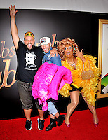 New York,NY-May 18: Daniel Franzese, Jospeh Bradley and Peppermint attend the 'Absolutely Fabulous: The Movie' New York premiere at SVA Theater on July 18, 2016 in New York City. @John Palmer / Media Punch