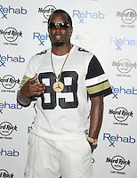 LAS VEGAS, NV - May 25: Puff Daddy hosts Memorial Day Weekend at Rehab at the Hard Rock Hotel on May 25, 2014 in Las Vegas, Nevada. © GDP Photos/ Starlitepics
