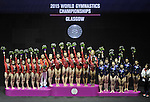 27/10/2015 - Womens Team Final - FIG Artistic gymnastics world championships - SSE Hydro Glasgow UK