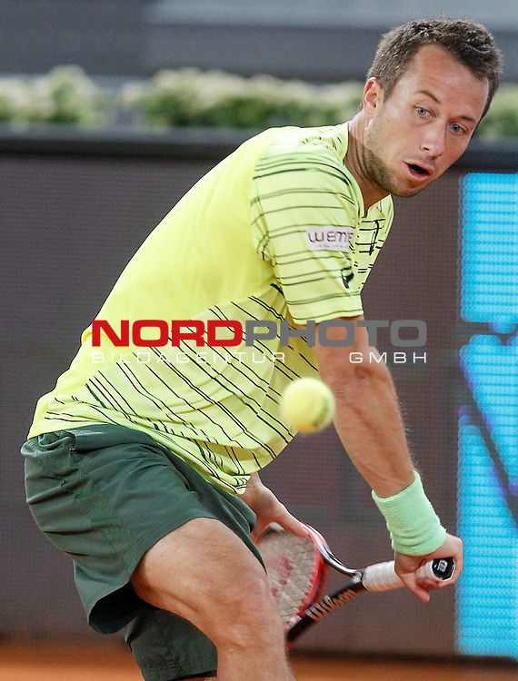 Philipp Kohlschreiber, Germany, during Madrid Open Tennis 2015 match.May, 6, 2015.Foto © nph / Acero)