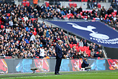 5th November 2017, Wembley Stadium, London England; EPL Premier League football, Tottenham Hotspur versus Crystal Palace; Crystal Palace Manager Roy Hodgson looks on from the touchline