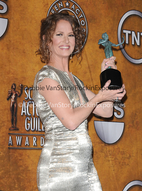 Melissa Leo attends the 17th Annual Screen Actors Guild Awards held at The Shrine Auditorium in Los Angeles, California on January 30,2011                                                                               © 2010 DVS / Hollywood Press Agency