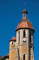 Europe/France/Midi-Pyrénées/32/Gers/Eauze: Cathédrale Saint-Luperc, gothique méridionnal - le clocher octogonal