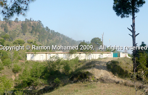 Matayal Girls School, Kotli area, Azad Kashmir, Pakistan.  Built with donations from the UK Kashmiri community.