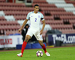 England's Brandan Galloway in action during the Under 21 International Friendly match at the St Mary's Stadium, Southampton. Picture date November 10th, 2016 Pic David Klein/Sportimage