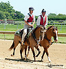 outriders at Delaware Park on 8/5/13