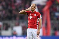Fussball  1. Bundesliga  Saison 2016/2017  14. Spieltag  FC Bayern Muenchen - VfL Wolfsburg    10.12.2016 Arjen Robben (FC Bayern Muenchen)