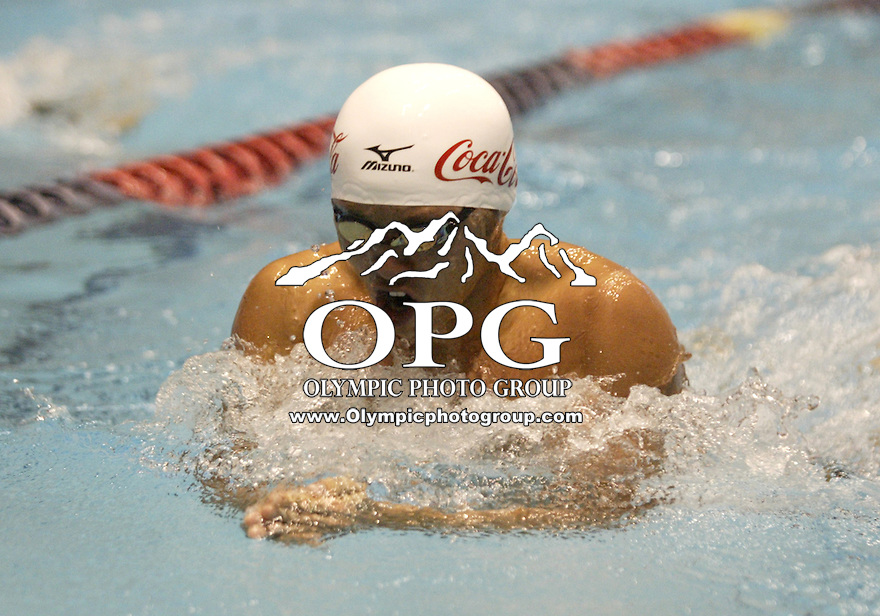 04 December 2009:  Kosuke Kitajima placed second with a time of 52.44 while competing in the 100 Yard Breaststroke at the AT&T Short Course National Championships held at the King County Aquatic Center in Federal Way, Washington.