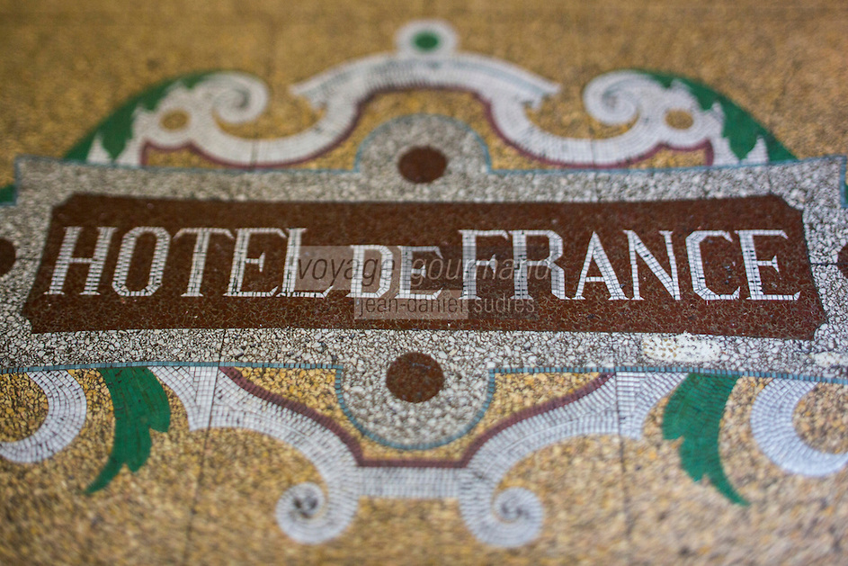 Europe/France/Midi-Pyrénées/32/Gers/Auch: Hôtel-Restaurant: L'Hôtel de France , La Mosaïque du Hall