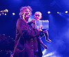 An Evening with... Amanda Palmer and her father Jack Palmer and guests including Neil Gaiman performing live at KOKO, Camden Town, London, Great Britain <br /> 3rd June 2016<br /> <br /> Neil Gaiman with son Ash <br /> <br /> <br /> Photograph by Elliott Franks <br /> Image licensed to Elliott Franks Photography Services