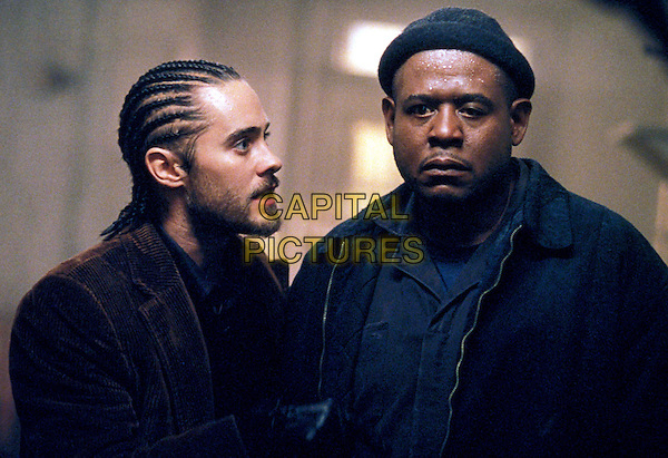 JARED LETO & FOREST WHITAKER.in Panic Room.Ref:  11551.Filmstill-Editorial use only.www.capitalpictures.com.sales@capitalpictures.com.Supplied by Capital Pictures