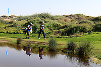 Julien Guerrier (FRA) in action during the final round of the NBO Open played at Al Mouj Golf, Muscat, Sultanate of Oman. <br /> 18/02/2018.<br /> Picture: Golffile | Phil Inglis<br /> <br /> <br /> All photo usage must carry mandatory copyright credit (&copy; Golffile | Phil Inglis)