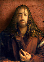 The Encantus would have lots of visuals… old woodcuts, paintings, photos. Here was a portrait of Balthazar Blake (Nic Cage) as if painted by Durer.
