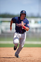 Minnesota Twins Bryant Hayman (24) during a minor league Spring Training intrasquad game on March 15, 2016 at CenturyLink Sports Complex in Fort Myers, Florida.  (Mike Janes/Four Seam Images)