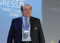 1st June 2011; FIFA Congress in stadion Zurich; Nicolas LEOZ (Paraguay, FIFA-Executive committee)  On April 6th 2020, in addition to Ricardo Teixeira, the former president of the Brazilian Football Confederation and the now-deceased ex-COMNEBOL president Nicolas Leoz and a co-conspirator, two former Fox employees have been indicted as part of the investigation into corruption by US official, which claims that Russia and Qatar offered and paid bribes to secure votes in the process that saw them awarded the 2018 and 2022 World Cups,  an indictment in the United States alleges. The document, was brought by federal prosecutors in New York as part of the long-running investigation into corruption surrounding football's governing body