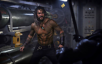 Aquaman (2018) <br /> Jason Momoa<br /> *Filmstill - Editorial Use Only*<br /> CAP/KFS<br /> Image supplied by Capital Pictures