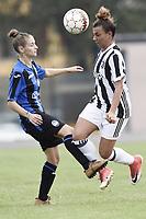 Mozzanica (Bg) 30/09/2017 - campionato di calcio serie A femminile / Mozzanica - Juventus / foto Daniele Buffa/Image Sport/Insidefoto<br /> nella foto: Arianna Caruso-Valeria Monterubbiano
