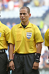 13 July 2015: Fourth Official Marlon Mejia (SLV). The Haiti Men's National Team played the Honduras Men's National Team at Sporting Park in Kansas City, Kansas in a 2015 CONCACAF Gold Cup Group A match. Haiti won the game 1-0.