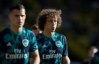 David Luiz of Arsenal pre match during the Premier League match between Watford and Arsenal at Vicarage Road, Watford, England on 16 September 2019. Photo by Andy Rowland.