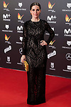 Nuria Gago attends red carpet of Feroz Awards 2018 at Magarinos Complex in Madrid, Spain. January 22, 2018. (ALTERPHOTOS/Borja B.Hojas)